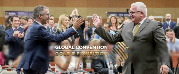 Roma riceve la Global Convention 2016 come anfitriona, il principale evento dell'autunno!