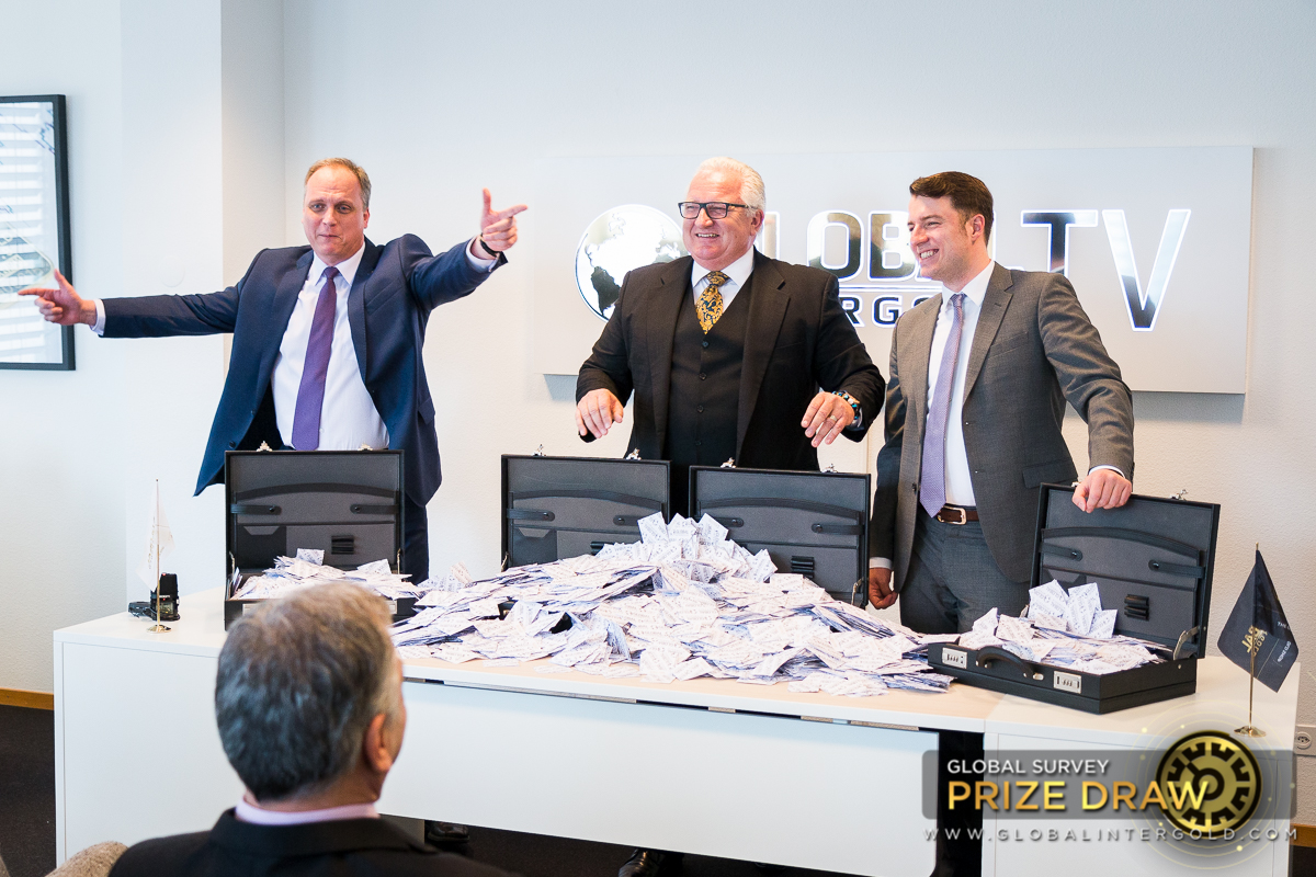 [PHOTOS] Global Survey Prize Draw at Global InterGolds office in Geneva