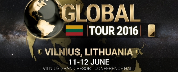 Labas rytas! The Global Tour 2016 event in Lithuania is starting!
