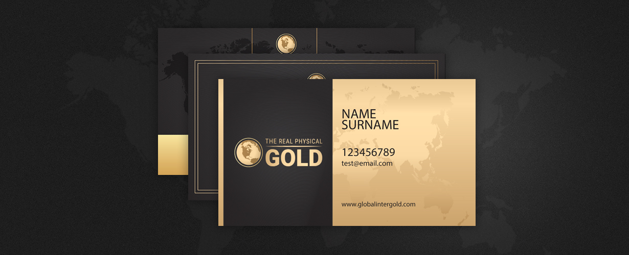 Create your personal Global InterGold business card with a unique ...