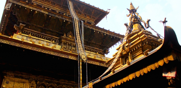 The Golden Shrine of Nepal