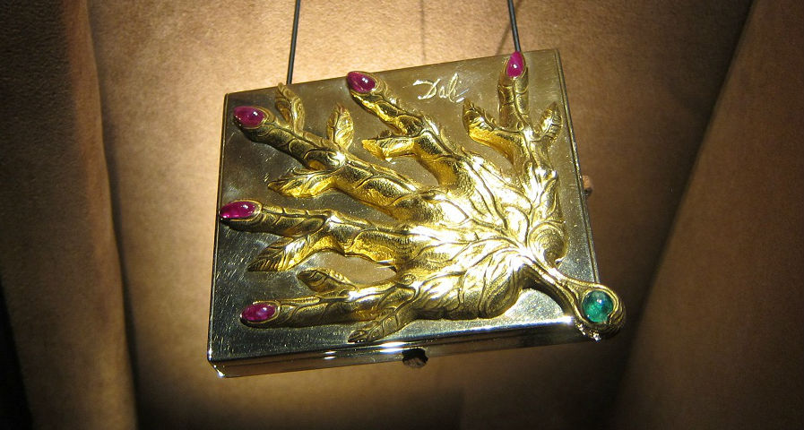 Golden Jewelry of Salvador Dali