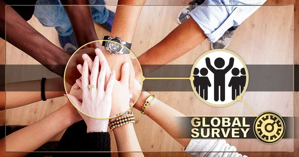 Global InterGold – from survey to prize draw!
