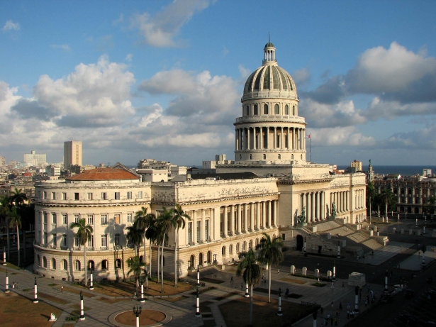 The Golden Dome of Havana