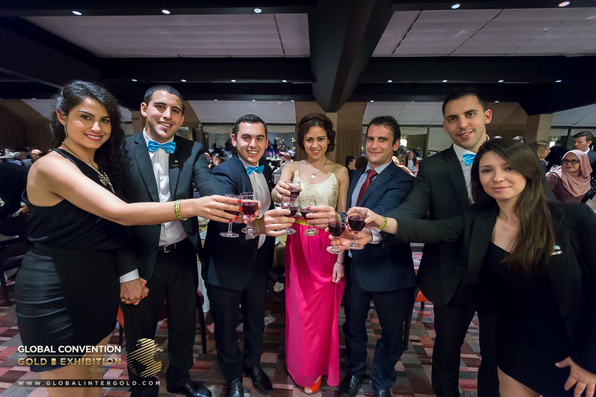 [FOTOGRAFIE] Cena di Gala per Leader con ritmi jazz nella Global Convention 2016!