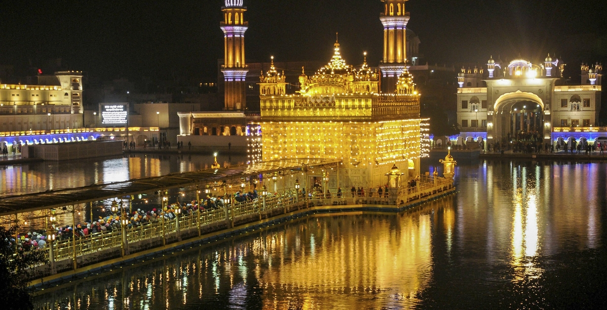 The Golden Temple of Sikhs