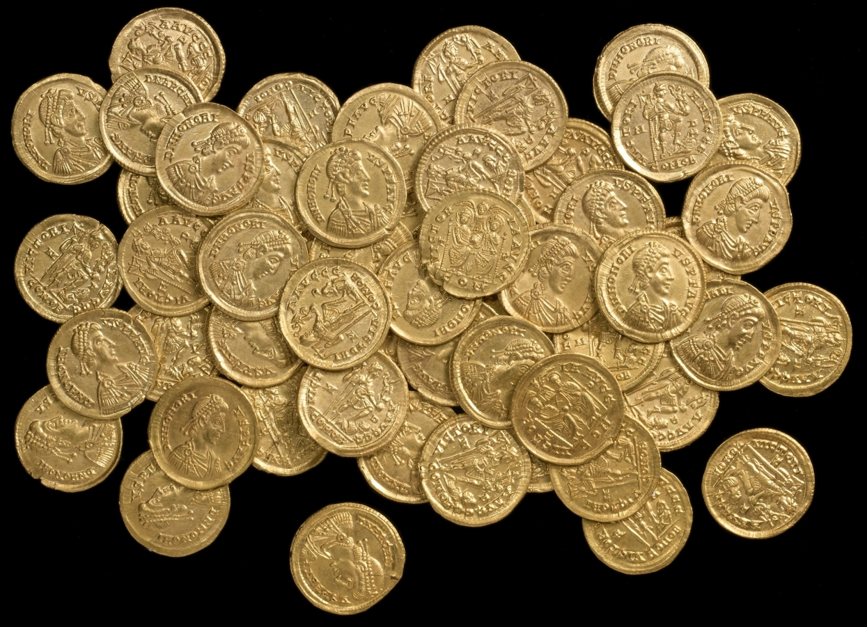 "Rare Roman gold coin and other TOP ""Most Wanted Historical Gold Coins"""