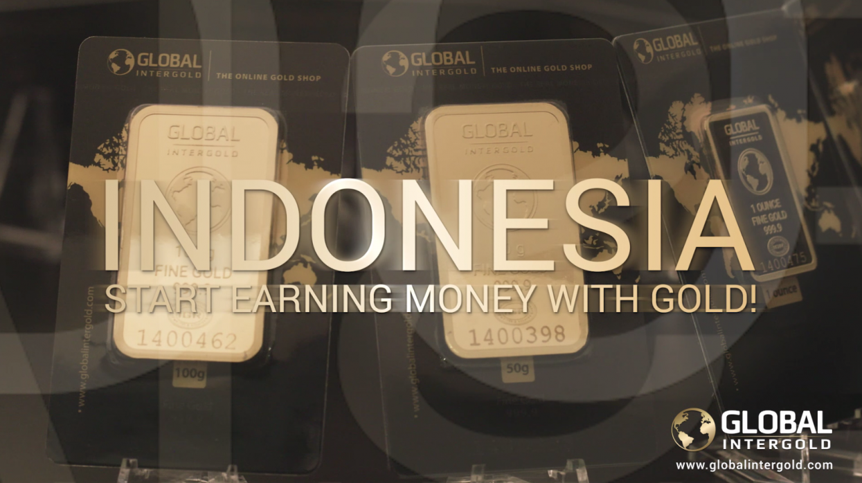 [VIDEO] Become a Global InterGold customer in Indonesia and be financially free!