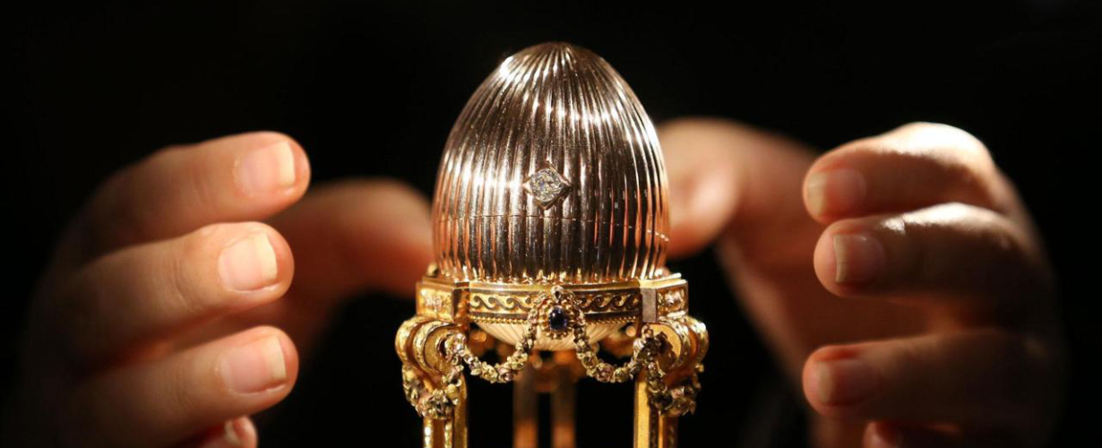 Faberge - Segreti di uova gioiello