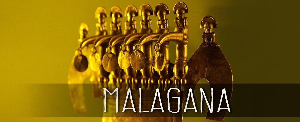 Золото Малаганы