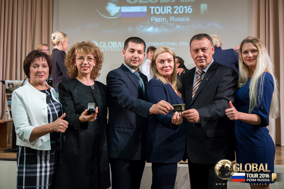 [VIDEO] Global InterGold business promotion in Perm, Russia