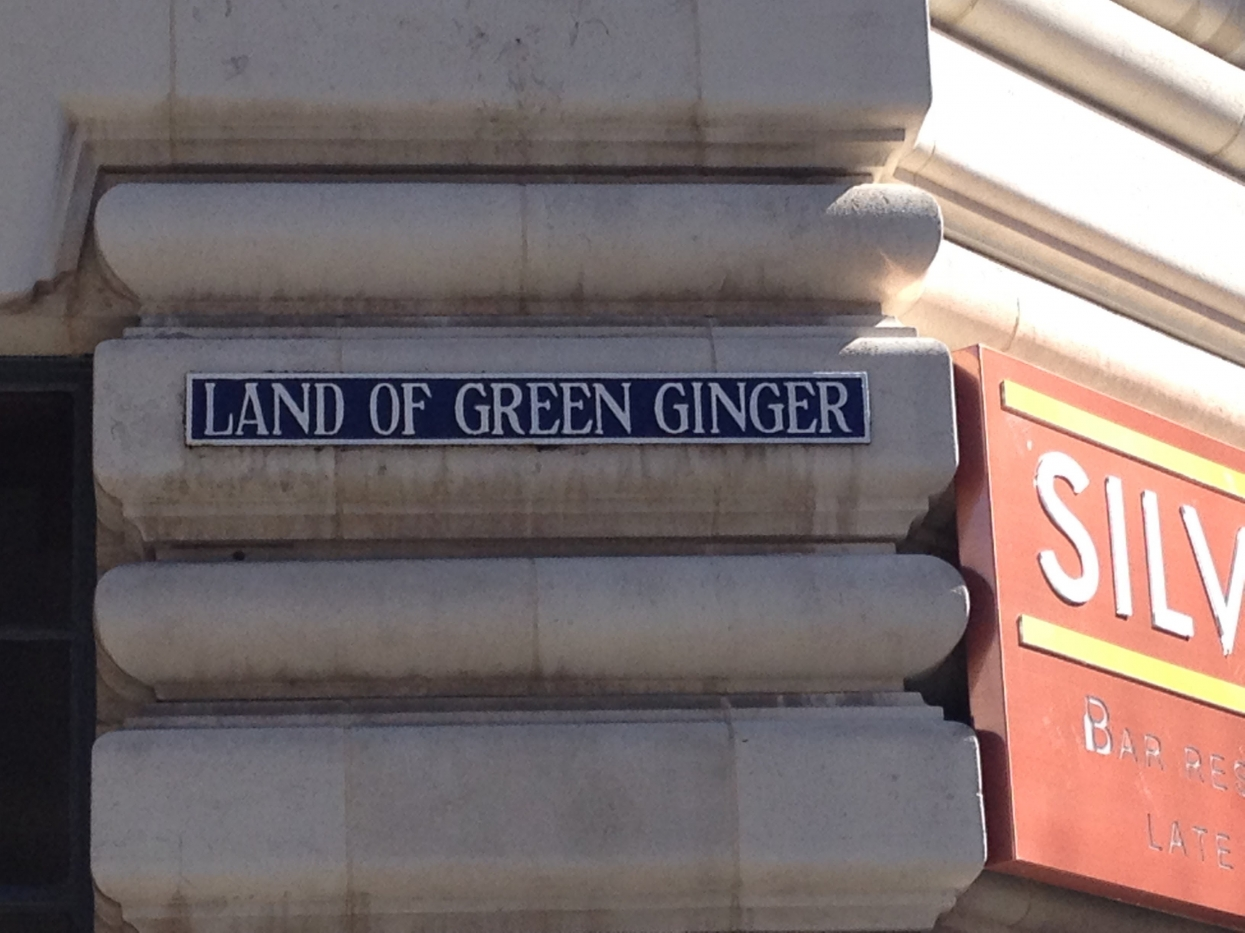 The Mysterious Gold Nose of Green Ginger has been found!