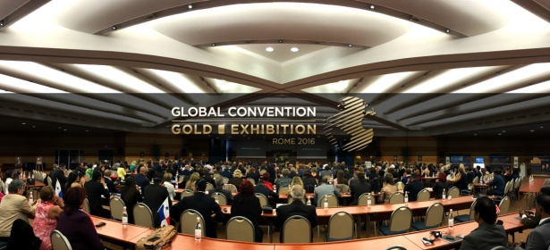 Global Convention & Gold Exhibition 2016 in Rome – the greatest conference on high income with gold has just finished.