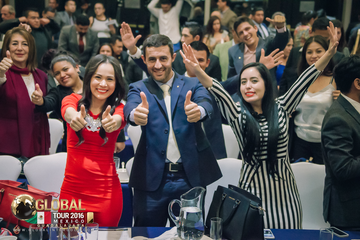 [PHOTOS] Global InterGold in Guadalajara: incredible teamwork