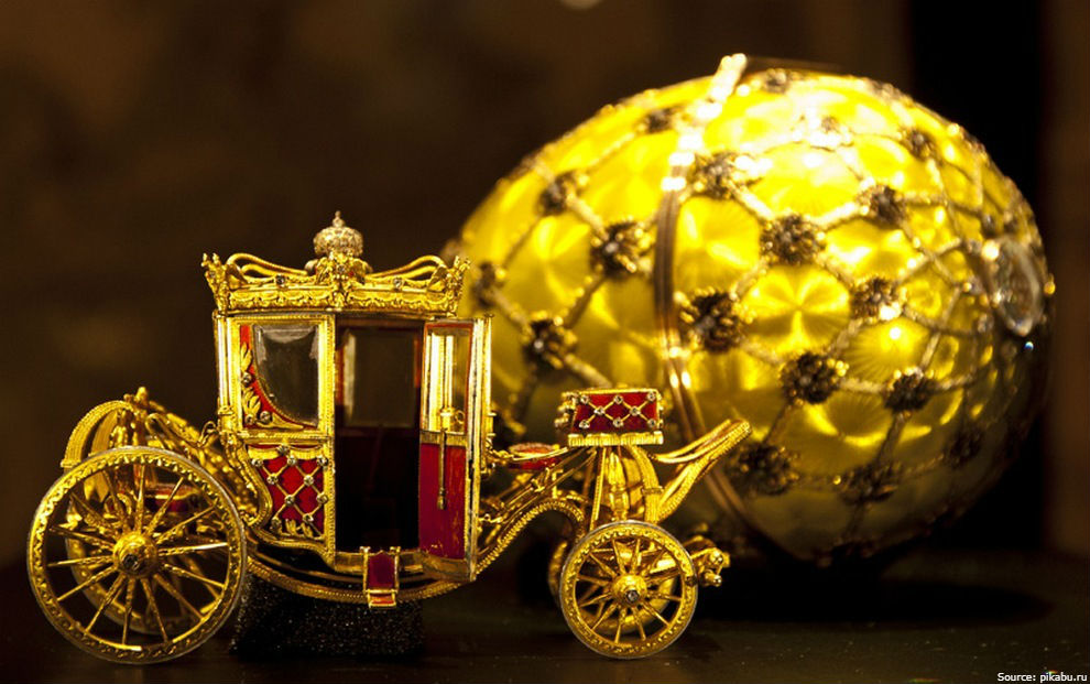 Christies auction: Faberge Gold